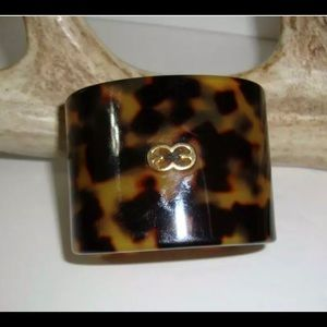 Vintage Escada Tortoise Cuff Bracelet